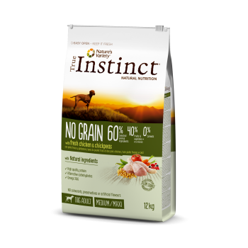 True Instinct No Grain Dog Adult Med/Maxi Chicken